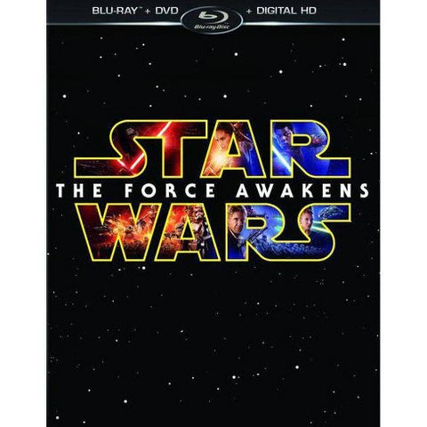 'Star Wars The Force Awakens' Blu-ray/DVD