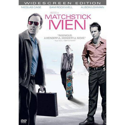 'Matchstick Men' DVD
