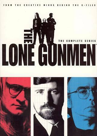 'Lone Gunmen' DVD Box