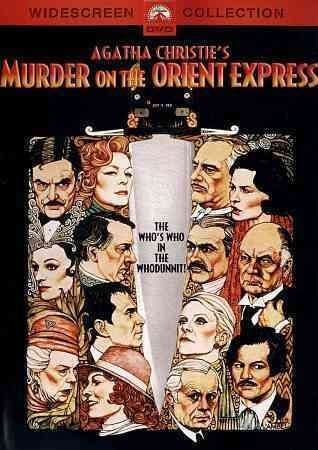 'Murder on the Orient Express' DVD