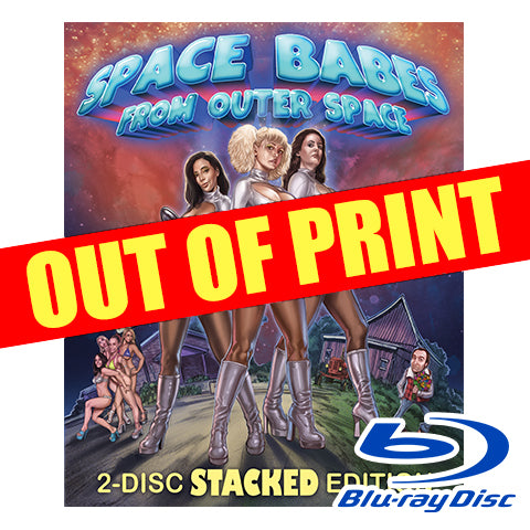 'Space Babes from Outer Space' 2-Disc Stacked Edition Blu-ray