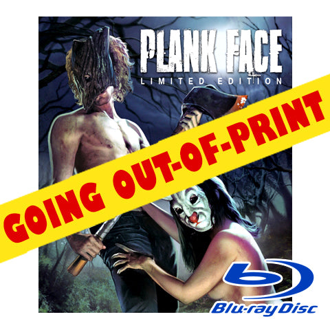 'Plank Face' Blu-ray (Fewer than 50 Remain!)
