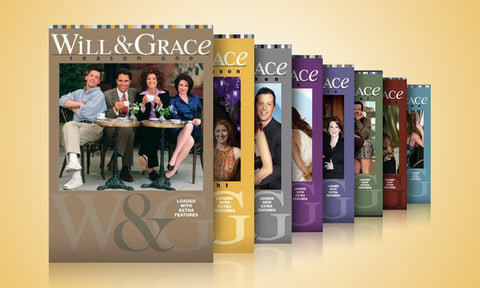 'Will & Grace' Seasons 1 thru 8 on DVD