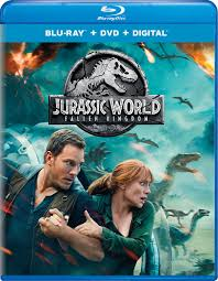 'Jurassic World: Fallen Kingdom' DVD/Blu-ray