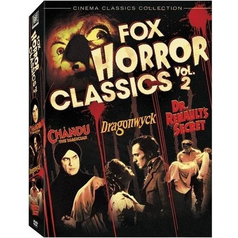 'Fox Horror Classics Vol 2' DVD Box