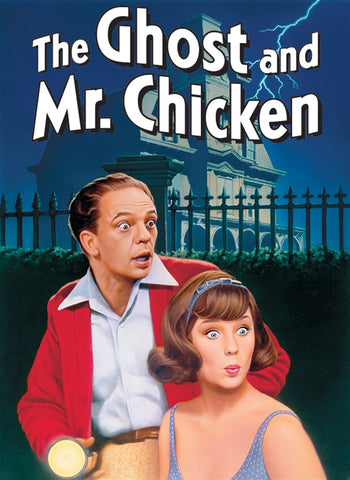 'Ghost and Mr Chicken' DVD