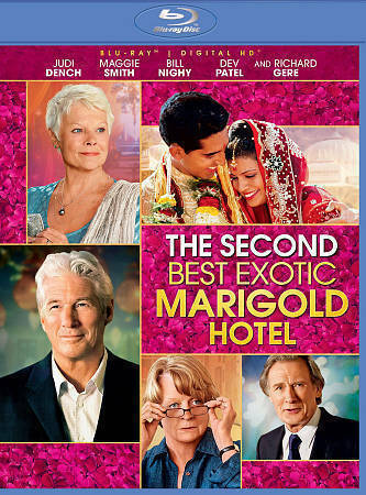 'Second Best Exotic Marigold Hotel' Blu-ray