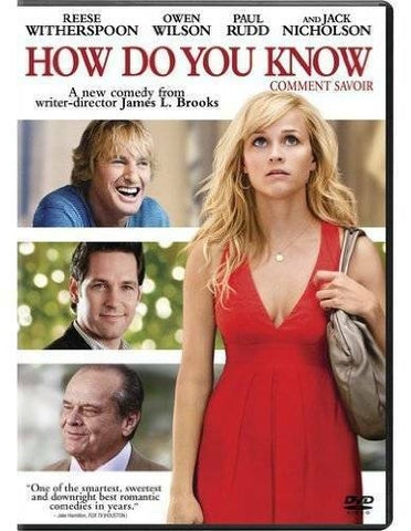 'How Do You Know' DVD