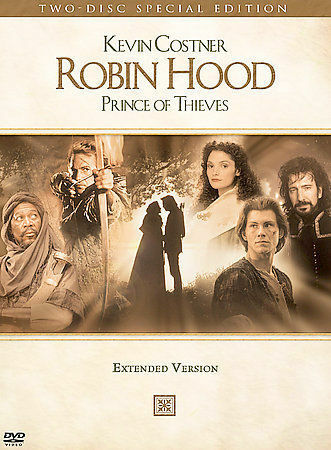 'Robin Hood Prince of Thieves' DVD