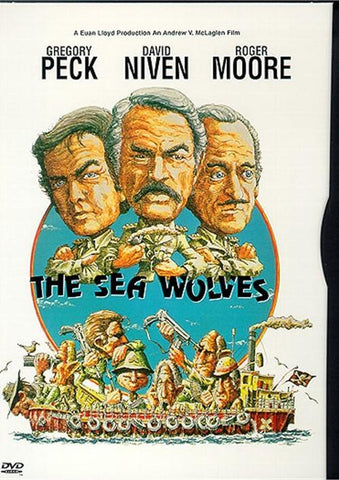 'Sea Wolves' DVD