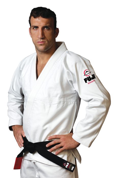 Fuji sports All Around BJJ Gi beginner white front