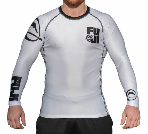 Fuji Big Logo Rash guard Long sleeve white front