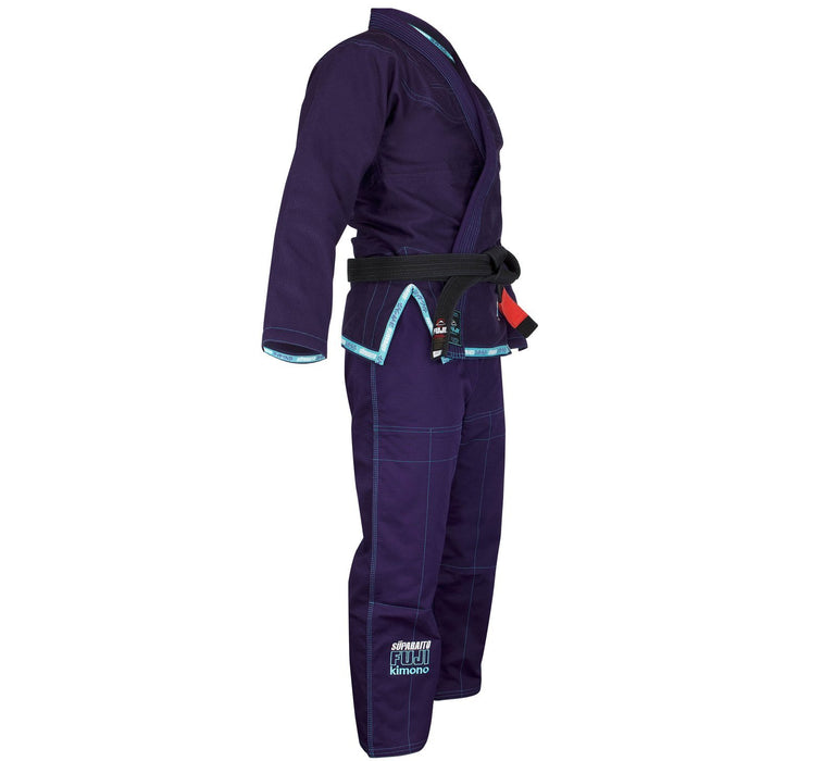 The Fuji Sports Suparaito Navy Womens BJJ Gi side right 1600x1600