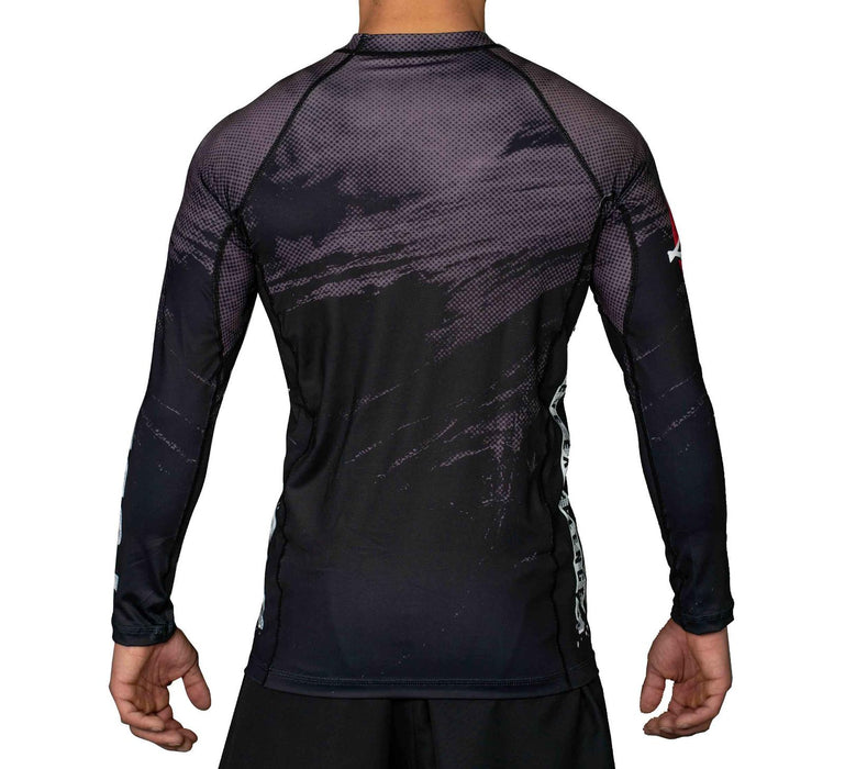 Fuji Mount Rashguard Long Sleeve back