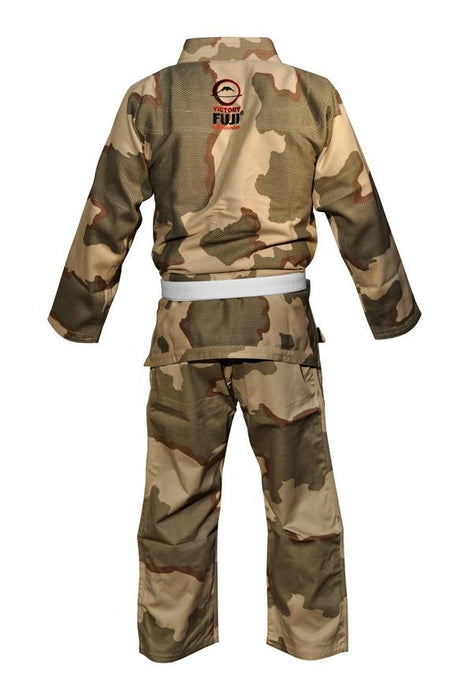 Fuji sports All Around BJJ Gi beginner camo back