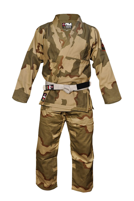 Fuji sports All Around BJJ Gi beginner camo front
