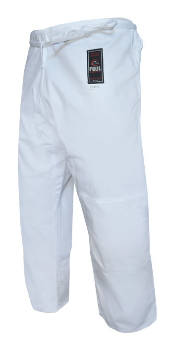 Judo Single Weave Pants White