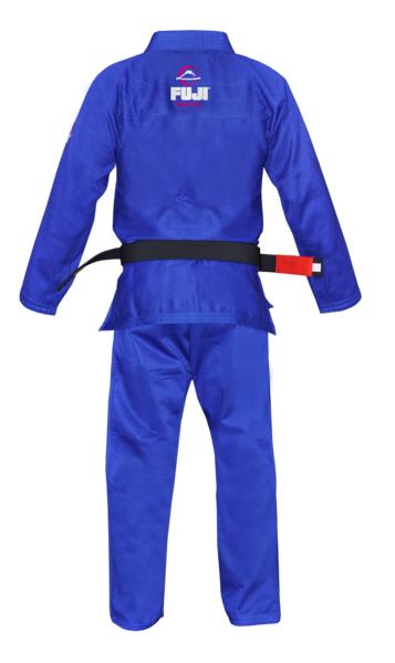 Fuji sports All Around BJJ Gi beginner blue back