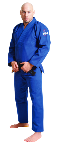 Fuji sports All Around BJJ Gi beginner blue front