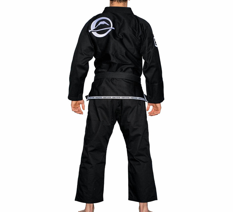 fuji submit everyone bjj gi black back