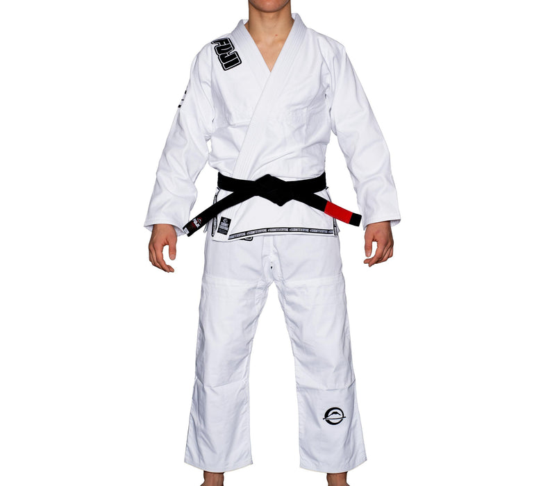 fuji submit everyone bjj gi white front