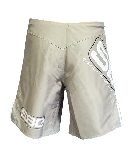 SBG Official Team Adult Fight Shorts - Grey