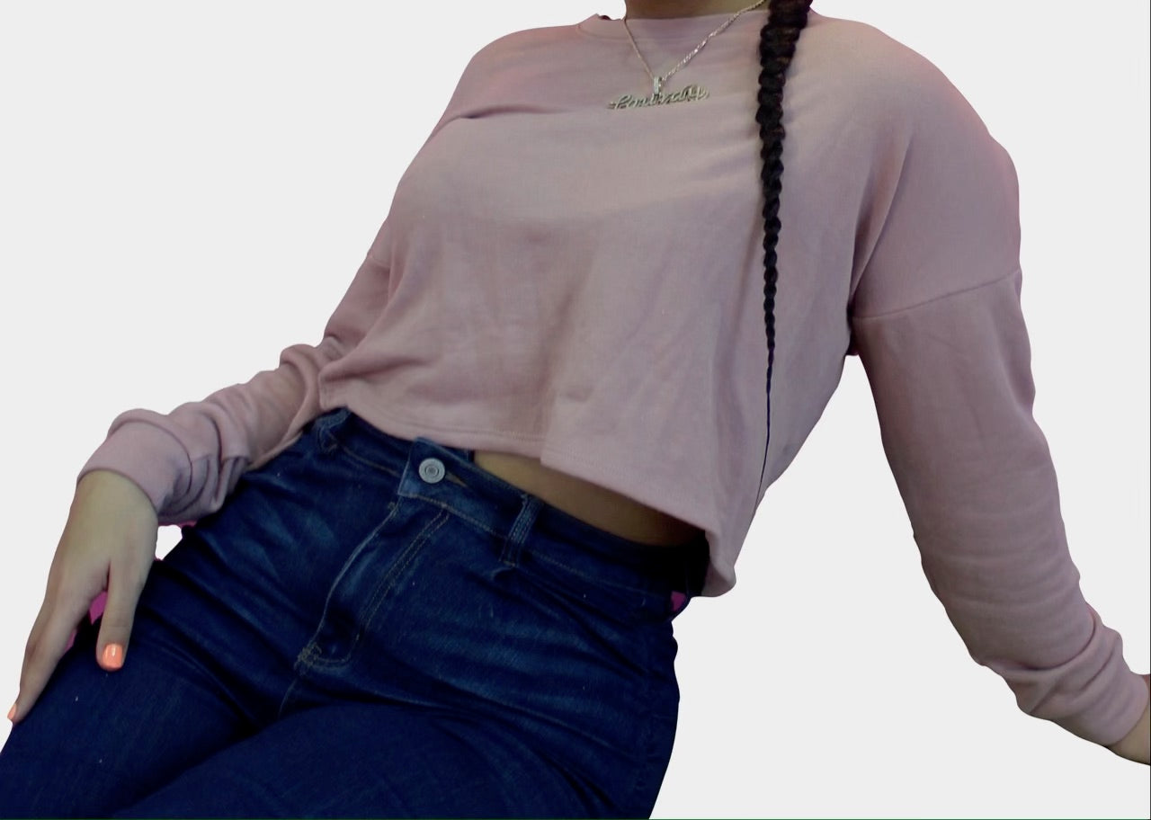Blushin Around Crop Top