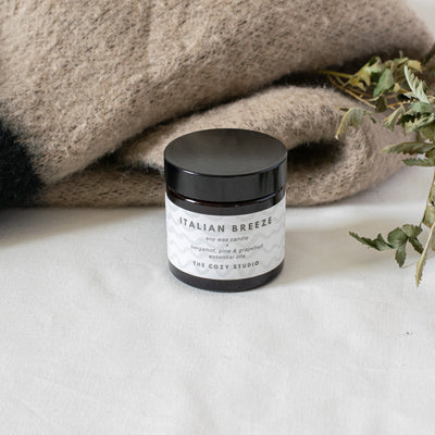 Italian Breeze Soy Candle - The Cozy Studio
