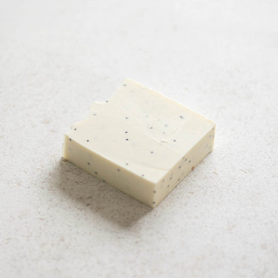 Eucalyptus Lemon + Poppy Seeds Soap Bar - The Cozy Studio
