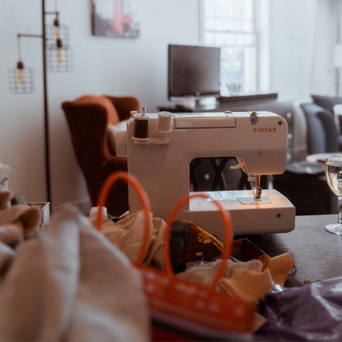 sewing machine for upcycling clothing