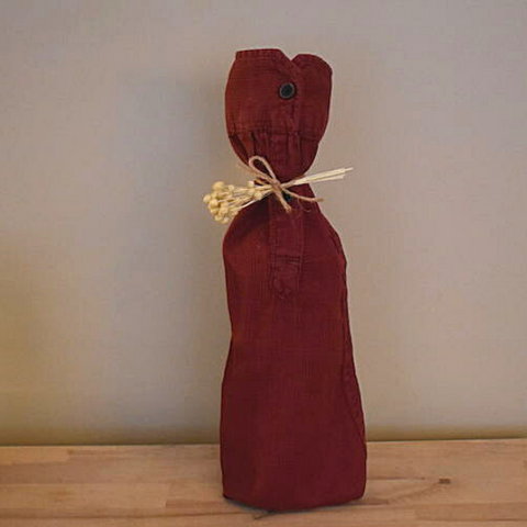 shirt sleeve gift wrapping idea