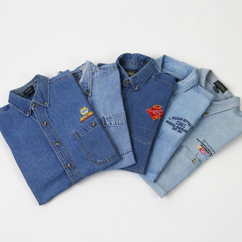 Pre Loved Surprise Denim Shirts