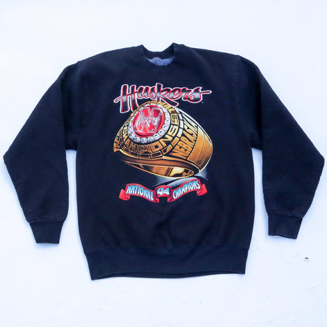 Vintage Nebraska Corn Huskers 1994 NCAA National Football Champions Sweatshirt