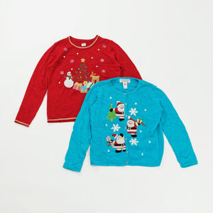 Preloved Christmas Sweaters | Set of 2