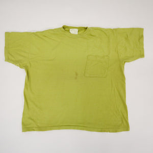 Vintage 90s Single Stitch Blank Front Pocket T-Shirt