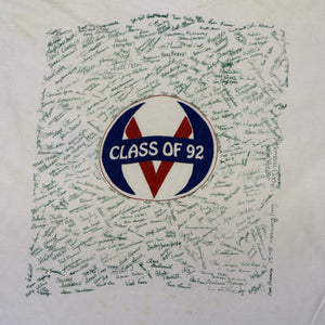 Vintage 1992 'What A Long Strange Trip Its Been' High School Graduation T-Shirt