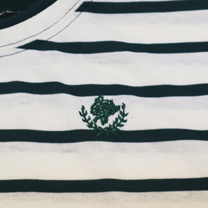 Vintage 90s Cabin Creek Double Collar and Cuff T-Shirt with Embroidered Logo