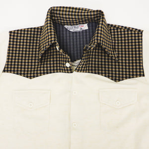 Vintage 70s Grand Slam Ltd. Western Style Button Down Polyester Shirt