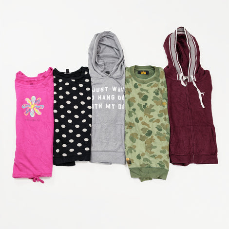 Women's Preloved Athleisure Sweatshirts | Set of 5
