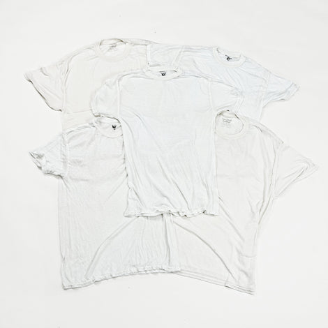 White Holy Grail Distressed T-Shirts | Set of 2