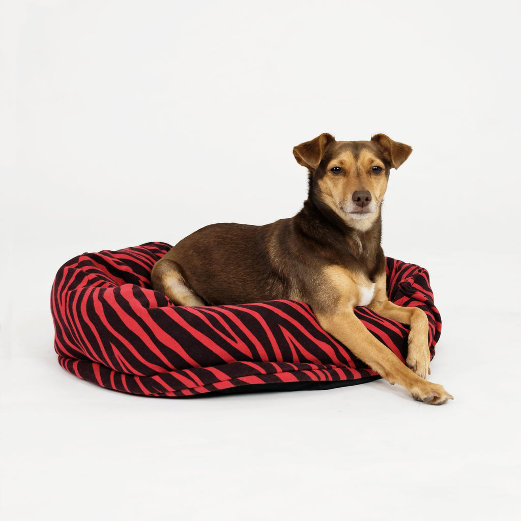 Upcycled Used Clothing Dog Beds
