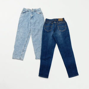 Women's Preloved High Rise Jeans | Set of 2