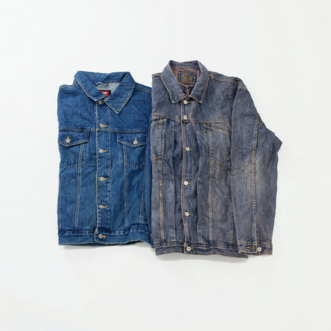 Men's Preloved Denim Jackets | Set of 2