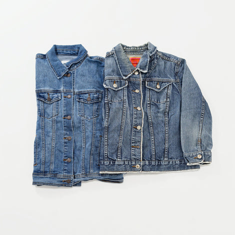 Women's Preloved Denim Jackets | Set of 2