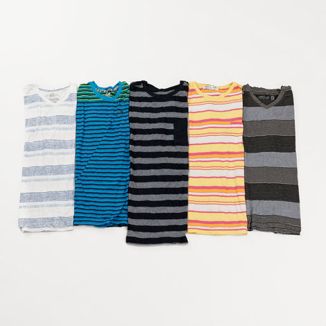Preloved Striped T-Shirts | Set of 3