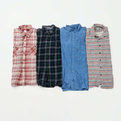 Preloved Flannel Shirts | Set of 4