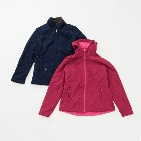 Women's Preloved Winter Jackets | Set of 2