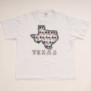 Vintage 90s Texas Cow Graphic T-Shirt Vintage Goodfair