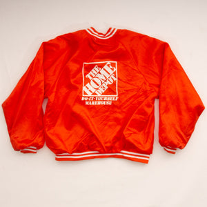 Vintage 90s Home Depot Warehouse Employee Button Up Jacket Vintage Goodfair