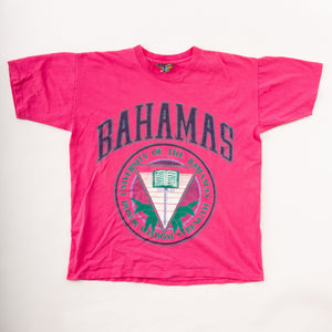 Vintage 90s Single-Stitch Bahamas University T-Shirt